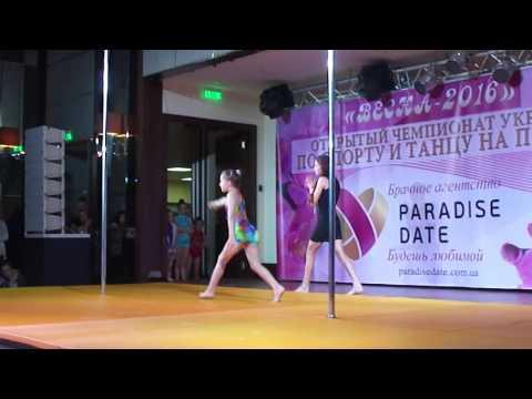 Танцы Пол Дэнс в Киеве. Обучение танцу на пилоне в лучшей