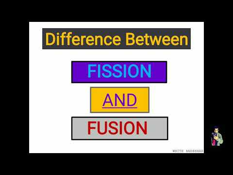 Fission and Fusion process | Fertile Material | Fissile Material what is the diffrence between