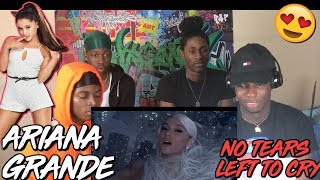 Ariana Grande - No Tears Left To Cry - REACTION