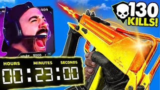 130 KILLS IN 23 MINUTES! 🤯 (Cold War Warzone)