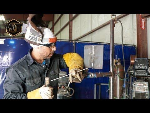 3G Open Root Stick Welding