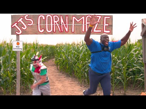 Can WWE Superstars escape this corn maze?