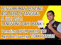 PENGUMUMAN PENTING DARI BANK !! ADA APA TANGGAL 5 JULI ?? PENERIMA BPUM WAJIB TAHU AGAR TIDAK HANGUS MP3