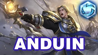 ⚡️Heroes of the Storm | Anduin Gameplay [W Heal u0026 Damage Build]