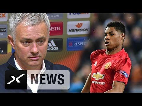 "José Mourinho: ""Macus Rashford mit starker Mentalität"" | Manchester United - RSC Anderlecht 2:1"