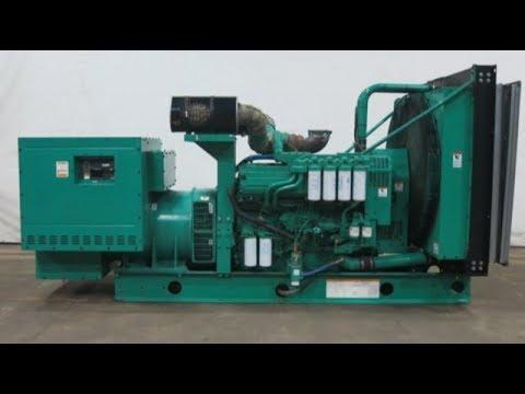 Cummins 900 kW diesel generator, QST30-G3 engine, 1242 Hrs, Yr 2002 - CSDG # 2361