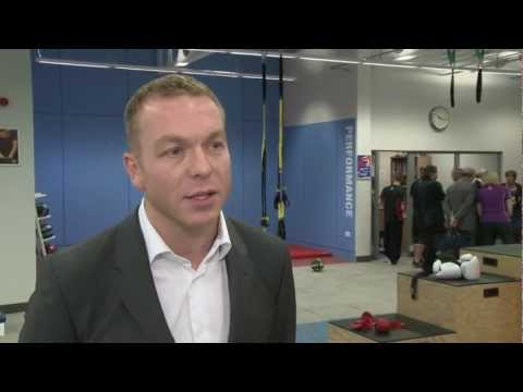 Sir Chris Hoy is Alumnus of the Year