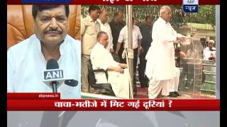 Shivpal Yadav not upset with Akhilesh Yadav anymore?