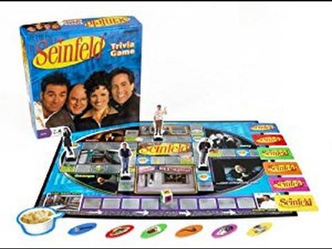 Calvin's Got Game: Seinfeld Trivia Game Review