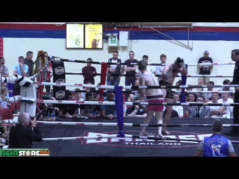Shane O Neill v Eoin McCarty - Siam Warriors Muaythai Fight Night