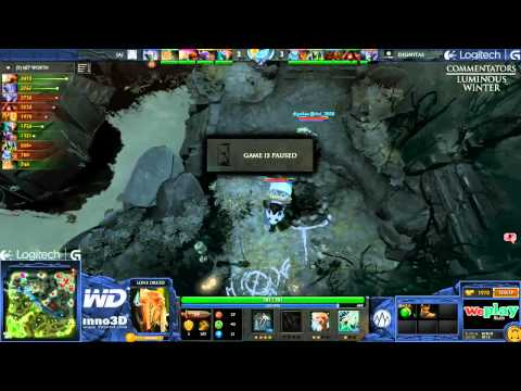 Alliance vs Dignitas - Game 2 (WePlay.TV - Playoffs)
