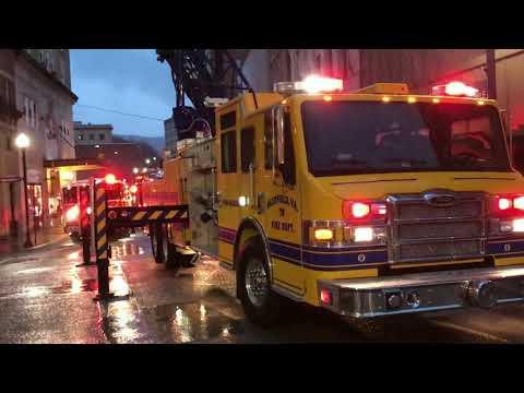 Bluefield WV Fire - Smoke On 6 & 7th Foors