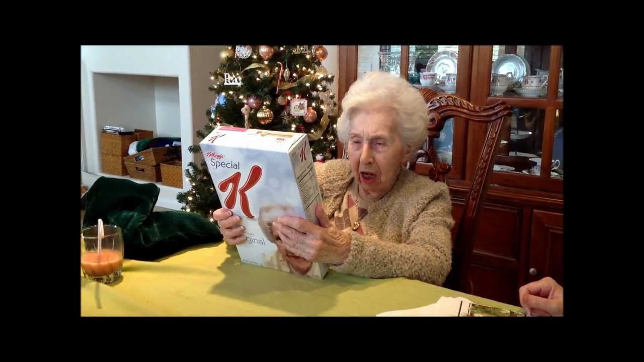 Special Ks Gift To 100 Year Old Granny - Youtube-4373