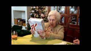 special k s gift to 100 year old granny