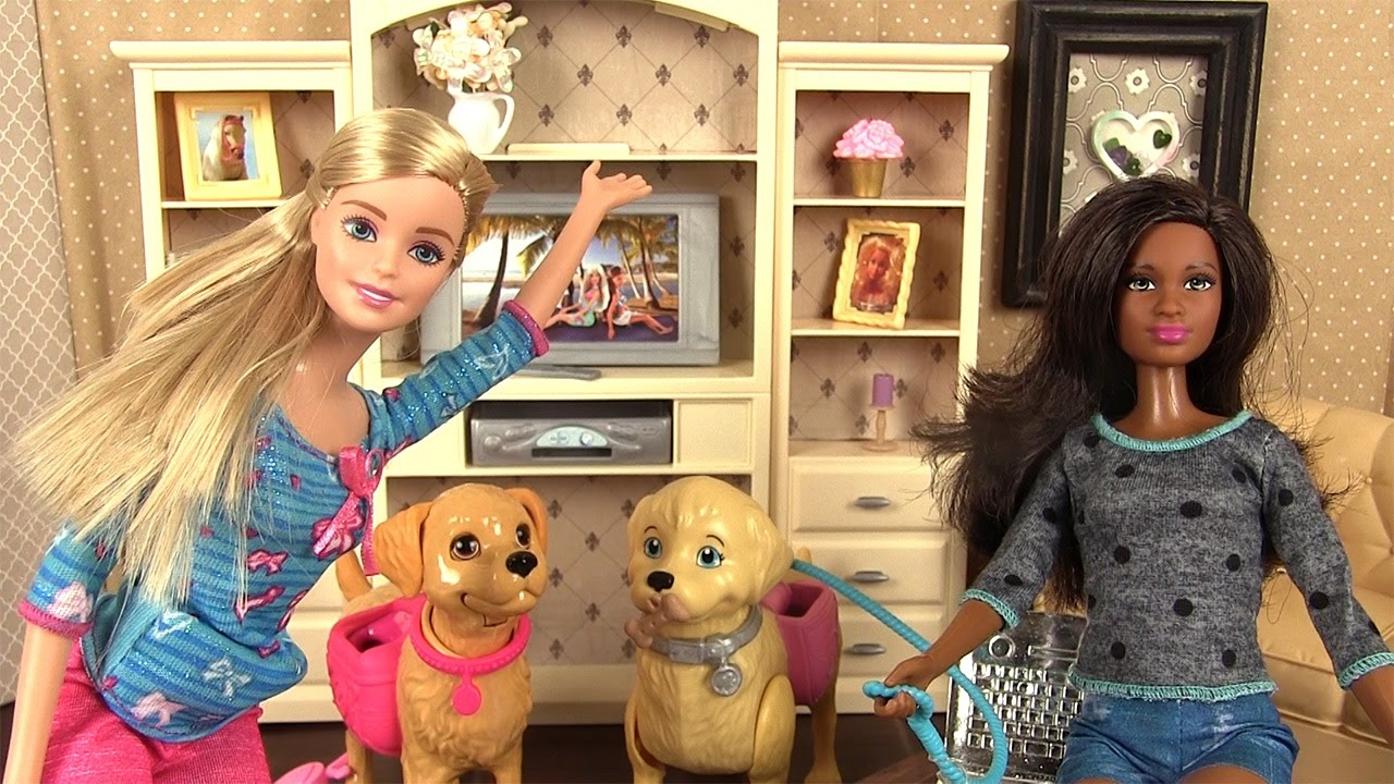 Poupée Barbie Et Son Chien Taffy Histoire De Jouets