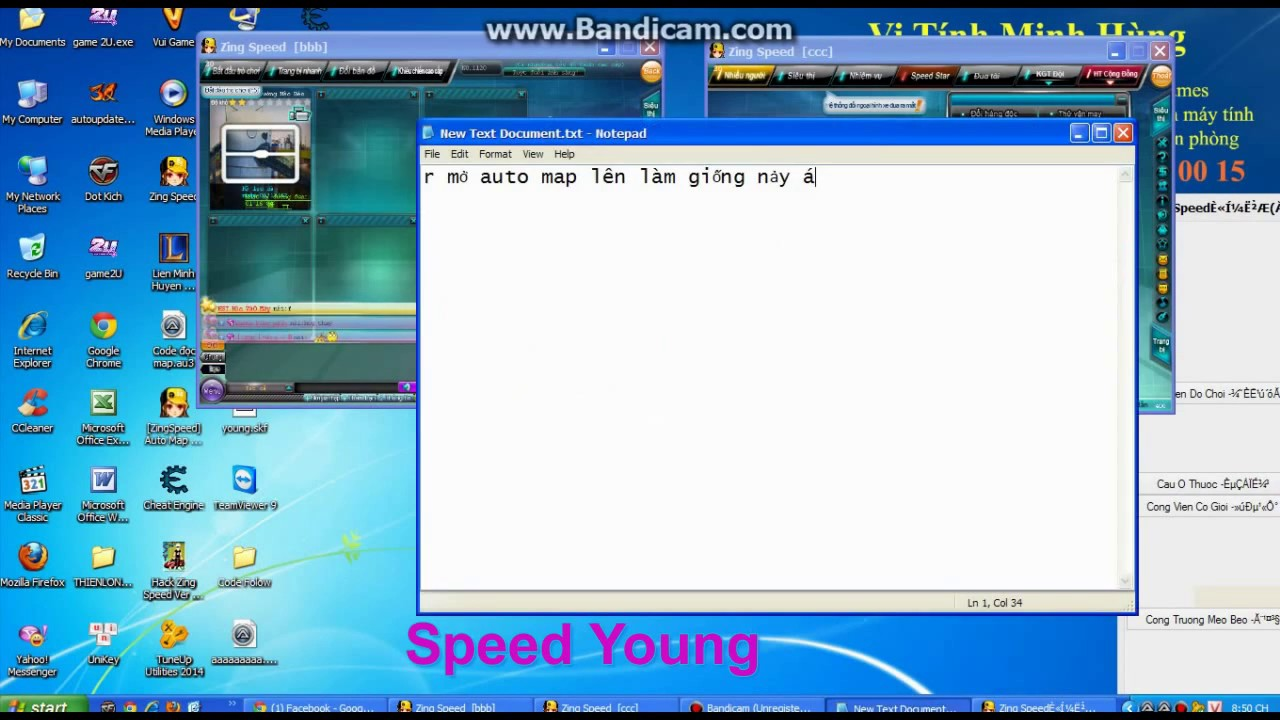 [Hướng Dẫn] Auto Up Lv Zing Speed