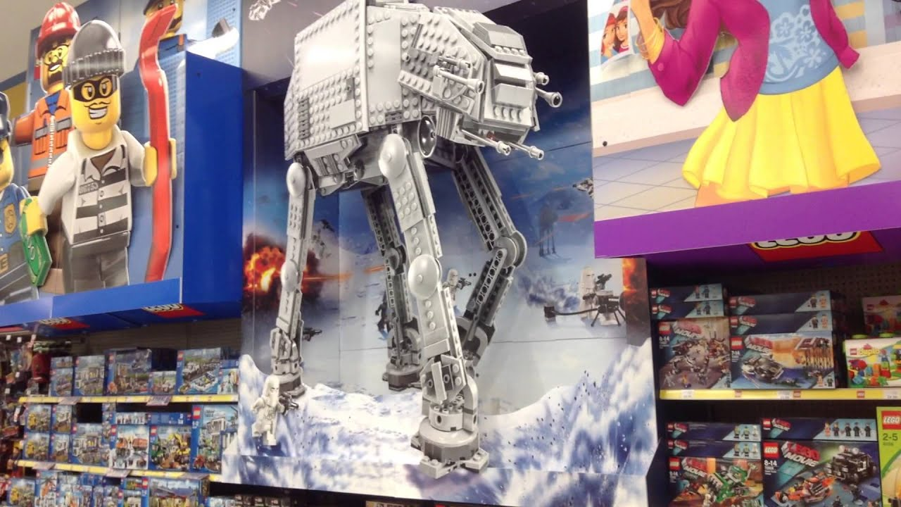Huge Lego Star Wars At At Display In Toys R Us Lakeside