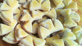 Пошаговый рецепт печенье с плавленым сыром