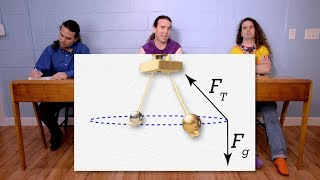 Conical Pendulum Demonstration and Problem