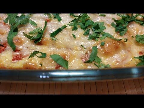 Запеканка из цветной капусты с помидорами и сыром - ПОЛЕЗНЫЙ ВКУСНЫЙ ЗАВТРАК!!!