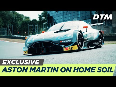 Aston Martin's first DTM Race on home soil | DTM Exclusive