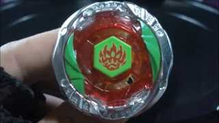 BB-118-FX Phantom Orion B:D REVIEW and TEST Beyblade Hyperblades SPARK FX (Hasbro) HD! AWESOME