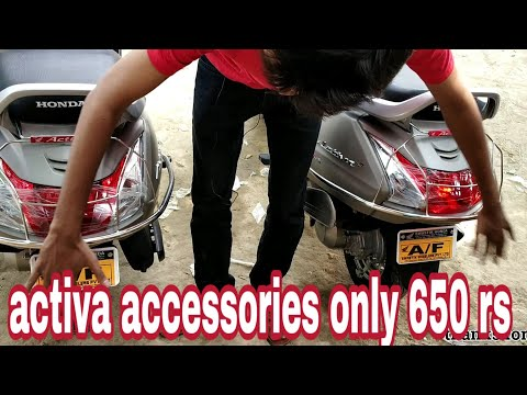 ACCESSORIES FOR HONDA ACTIVA 5G 2018 only 650 rupye