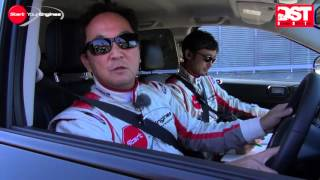 フォード・クーガ・タイタニアム vs クライスラー・コンパス・リミテッド(ハイスピードライディング編)【DST#066-03】