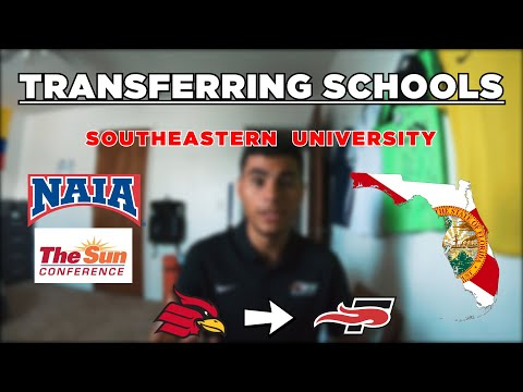 I Transferred To Southeastern University | Update Video