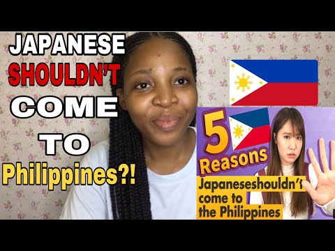 5 reasons why JAPANESE shouldn't come to the Philippines🇵🇭- Reaction video