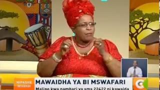 Mawaidha ya Bi Mswafari