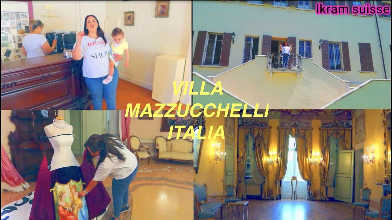 la visita di villa MAZZUCCHELLI dall'italia  زيارة  فيلا  مازيوكيلي الايطاليا