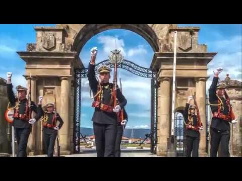 La Escuela Naval Militar celebra sus 75 años de vida en Marín