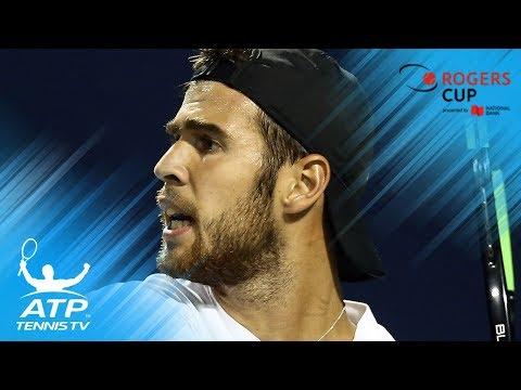 Nadal, Khachanov, Anderson & Tsitsipas reach semi-finals | Rogers Cup 2018 Quarter-Final Highlights