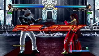 TEKKEN TAG TOURNAMENT 2 Baek/ hwoarang vs Jun