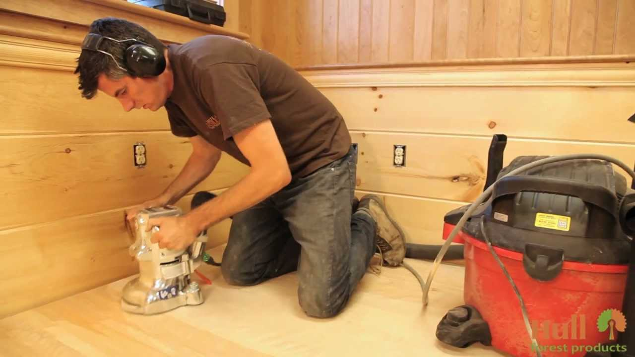 Installing Sanding And Finishing A Wide Plank Floor