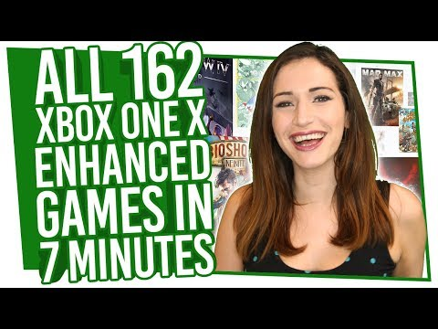 All 162 Xbox One X Enhanced Games Explained In 7 Minutes
