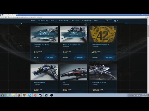 STAR CITIZEN || HOW TO PICK AND BUY A SHIP || BEGINNERS GUIDE EP1