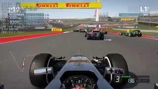 F1 2014 benchmark (max settings) PC HD - GTX 670