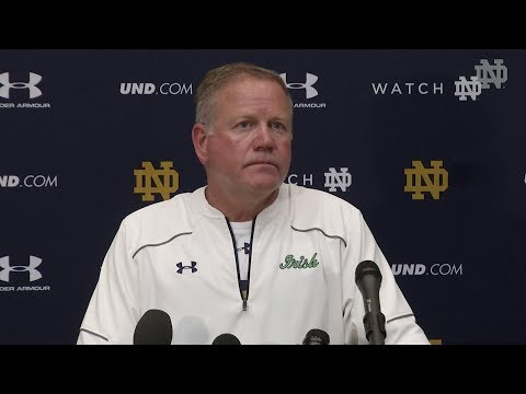 Brian Kelly Press Conference - August 9th Post-Practice