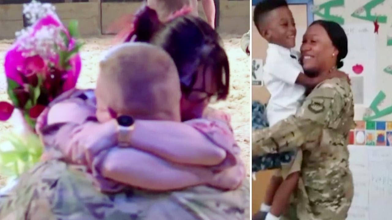 These Surprise Military Homecomings Will Warm Your Heart