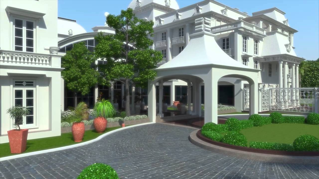 3d walkthrough interior exterior rendering design