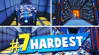 TOP 7 HARDEST Creative Maps In Fortnite (Fortnite Parkour Map CODES)