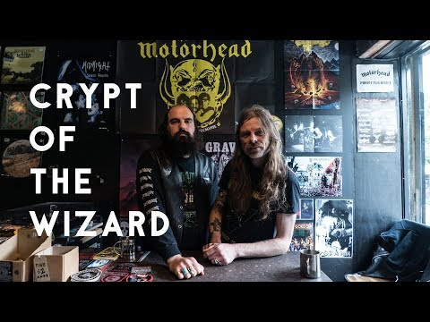 Enter Crypt Of The Wizard, London's only heavy metal record shop