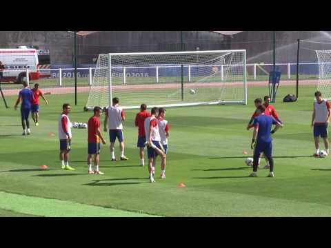 Spain team training - 26.06