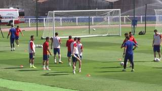 Spain team training - 26.06