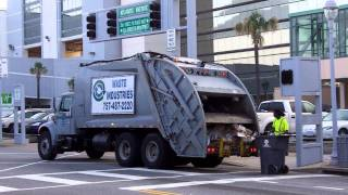 Waste Industries Commercial Trash Run Part 2