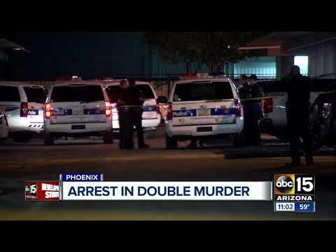 Phoenix police make arrest in double murder