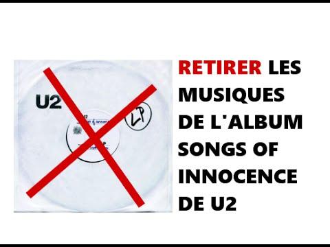 Supprimer l' album de u2 sur son iPhone / iPad / iPod Touch