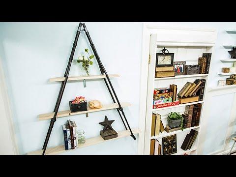 How To - Matt Iseman's DIY Crutch Bookshelf - Home & Family
